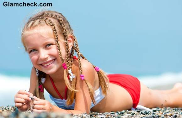 Beach Hairstyles for Kids