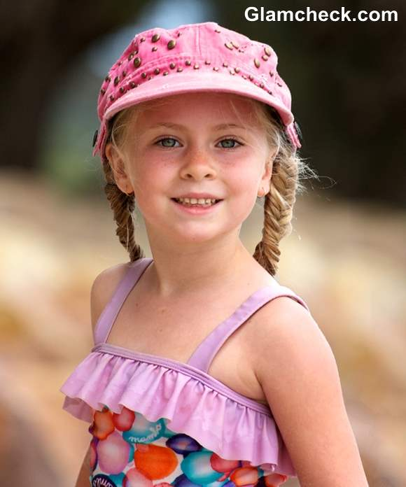 Beach Hairstyles For Little Girls