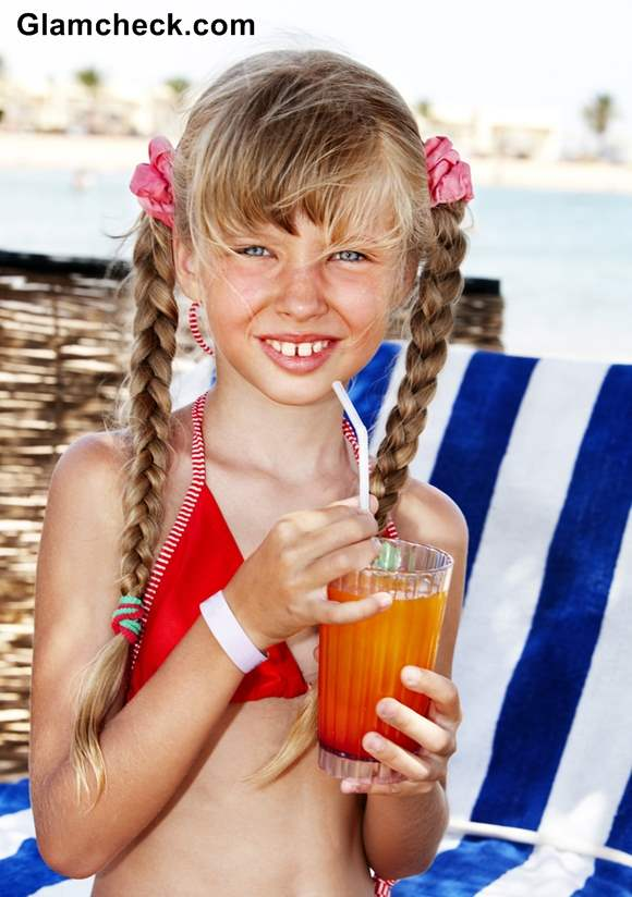 Beach Hairstyles for Little Girls braids