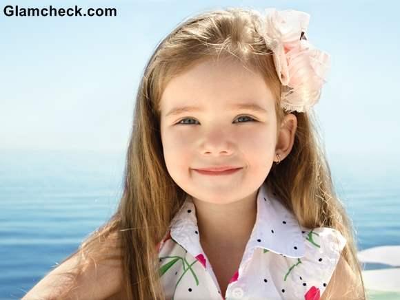 Beach Hairstyles little Girls long hair