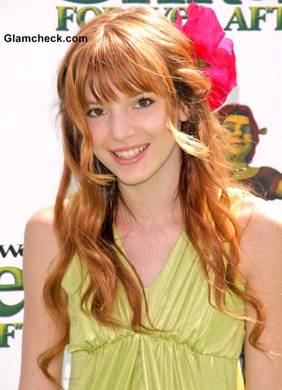 Bella Thorne curly Hairstyles for little Teenage Girls