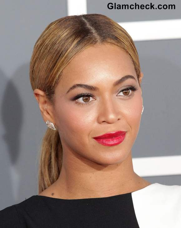 Beyonce Classy Ponytail Hairstyle 2013