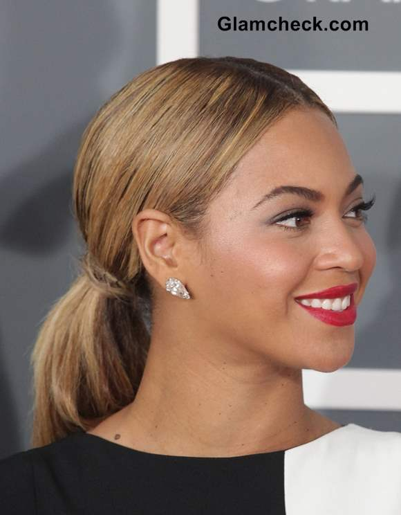 Beyonce Ponytail Hairstyle
