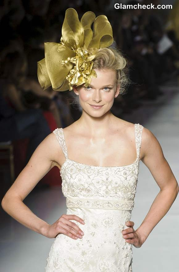 Bridal Head Gears 2013 fall winter Pronovias