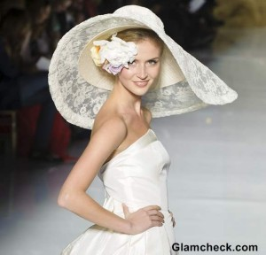 Ethereal yet Glamorous Bridal Head Gears at Pronovias