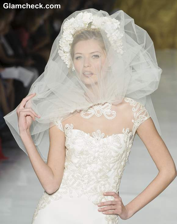 Bride net veils 2013 Pronovias