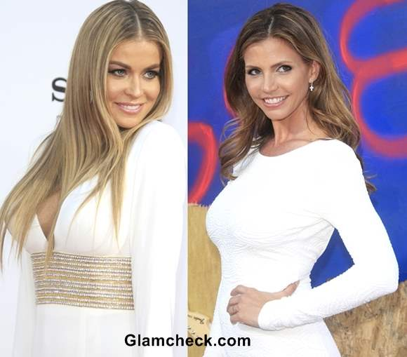 Celebrity white outfits 2013