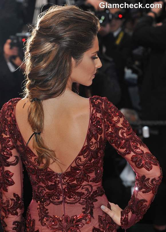 Cheryl Cole Hairstyle Cannes 2013