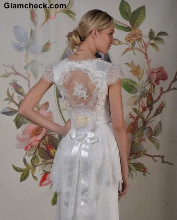 Claire Pettibone Bridal lace Gowns Fall-Winter 2013 colleciton