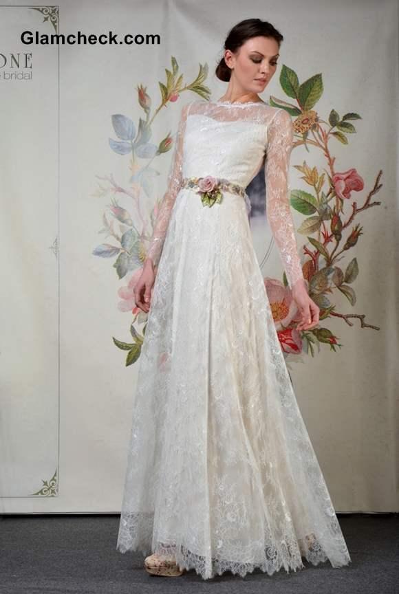 Claire Pettibone International Bridal Fashion Week Fall Winter 2013 NYC