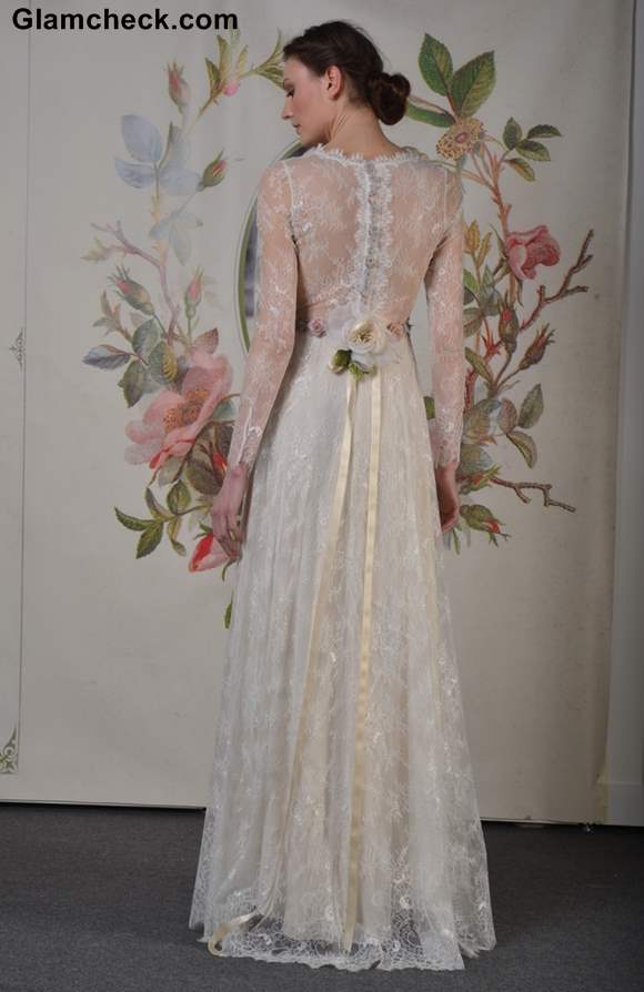 Claire Pettibone collection International Bridal Fashion Week 2013 NYC