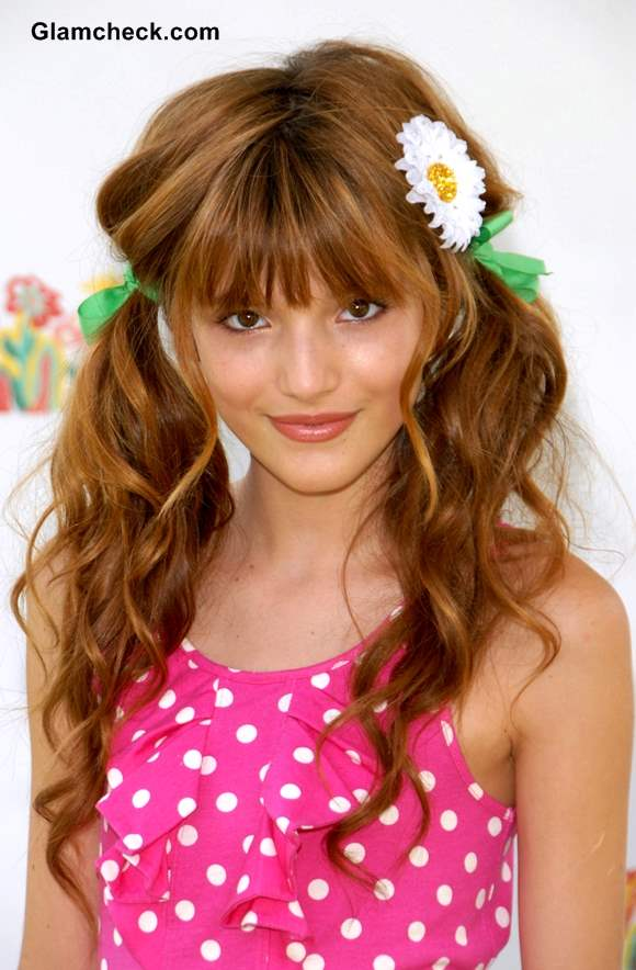 Pleasant Bella Thorne Inspired Fun Hairstyles For Little Teenage Girls Hairstyles For Women Draintrainus