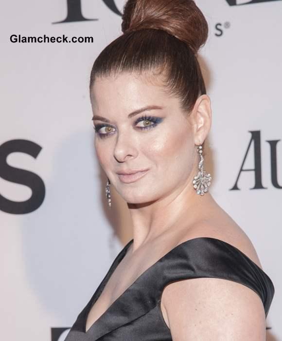 Debra Messing Stately In Top Bun At 2013 Tony Awards