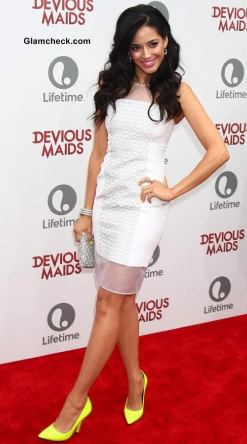 Edy Ganem 2013 white dress