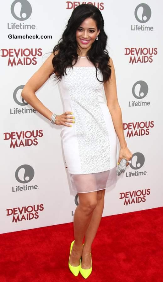 Edy Ganem little white dress 2013