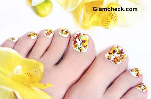 Feet Nail Art Pedicure
