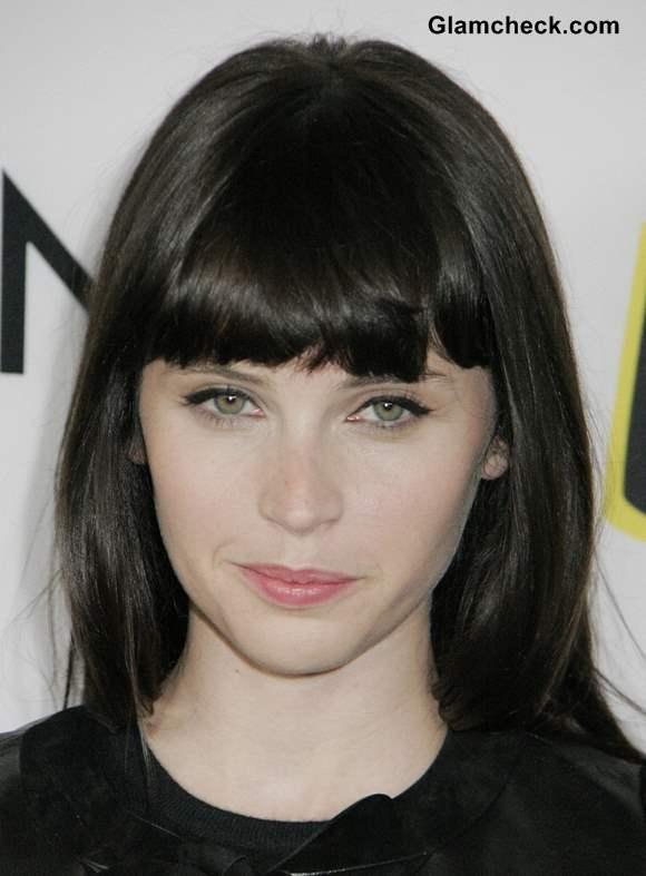 Felicity Jones Natural Hair