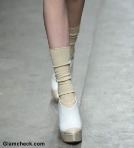 Footwear Trend Fall 2013: Ankle Boots with Socks