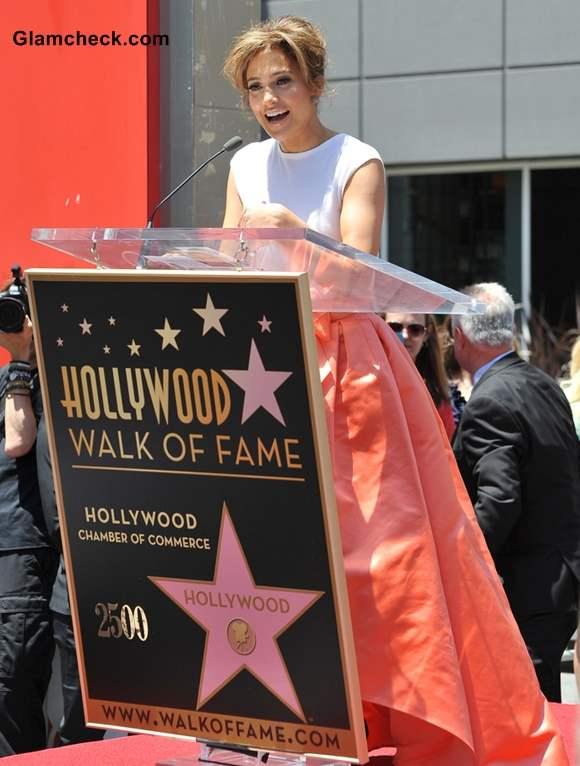 Jennifer Lopez awarded 2500th star at Hollywood Walk of Fame