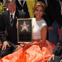 Jennifer Lopez awarded 2500th star at the Hollywood Walk of Fame