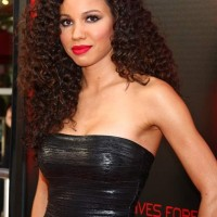 Jurnee Smollett-Bell Curly Hairstyle 2013
