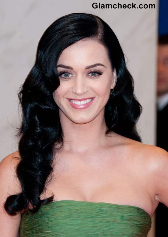 Katy Perry 2013 Hairstyles Black Hair Color