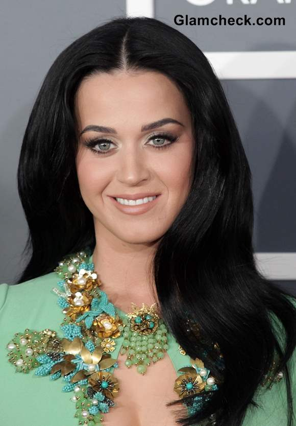 Katy perry black hair 2013
