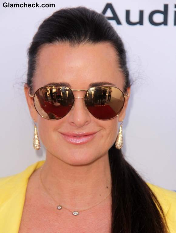 Kyle Richards 2013 Red Carpet in Colorful Ensemble