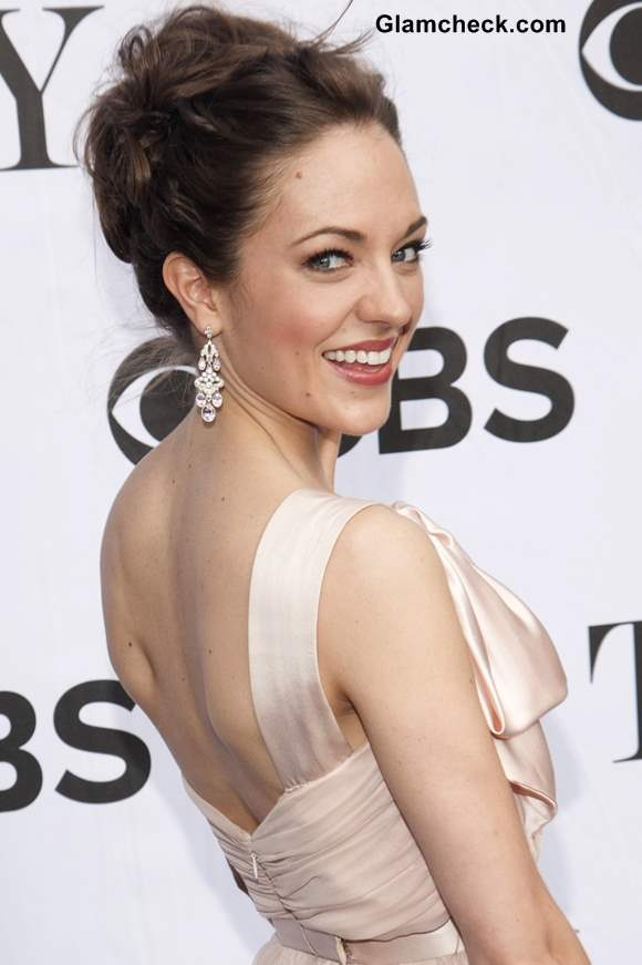 Laura Osnes Hairstyle 2013