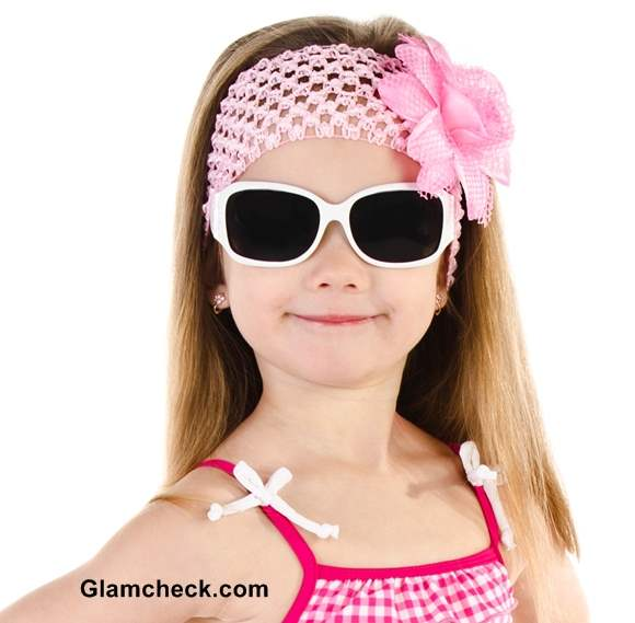 Little Girls Beach hairstyles hairband
