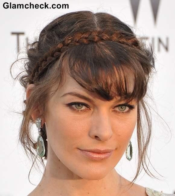 Makeup Milla Jovovich 2013 Cannes