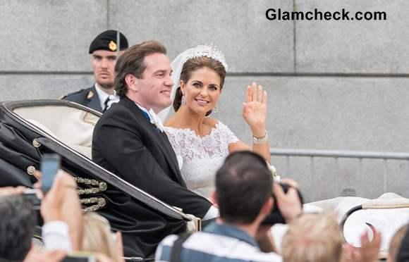 Princess Madeleine Chris ONeill Tie the Knot