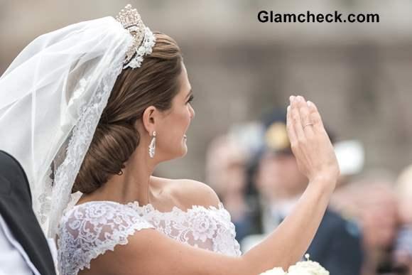 Princess Madeleine wedding gown