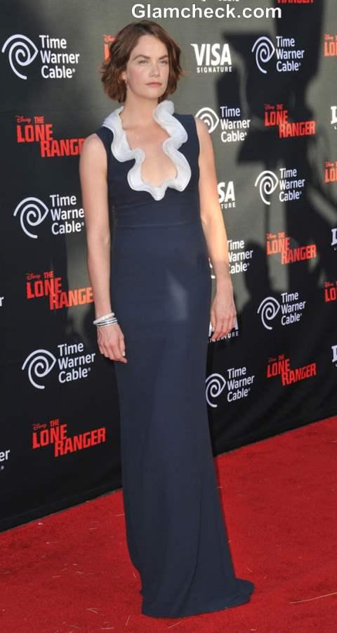 Ruth Wilson in Alexander McQueen Gown 2013