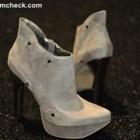 Style Pick Camel Booties by Katya Leonovich
