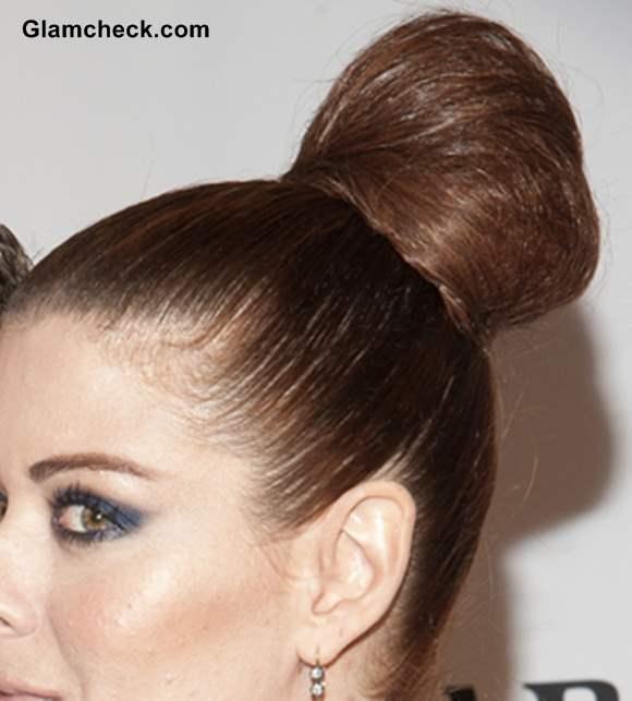 Top Bun hairstyle 2013