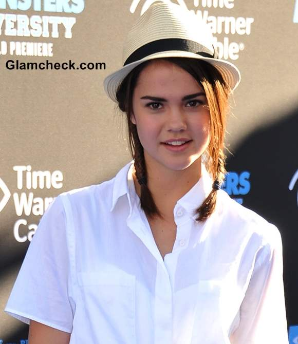 White Shirt with Cropped Pants 2013 Maia Mitchell