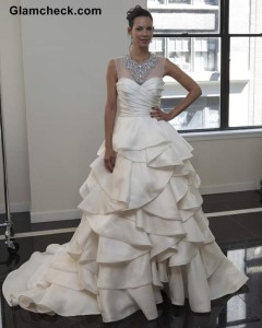 Yumi Katsura's Collection at the NYC Bridal Week Fall Winter 2013