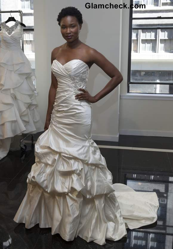 Yumi Katsura Collection at the NYC Bridal Week Fall Winter 2013