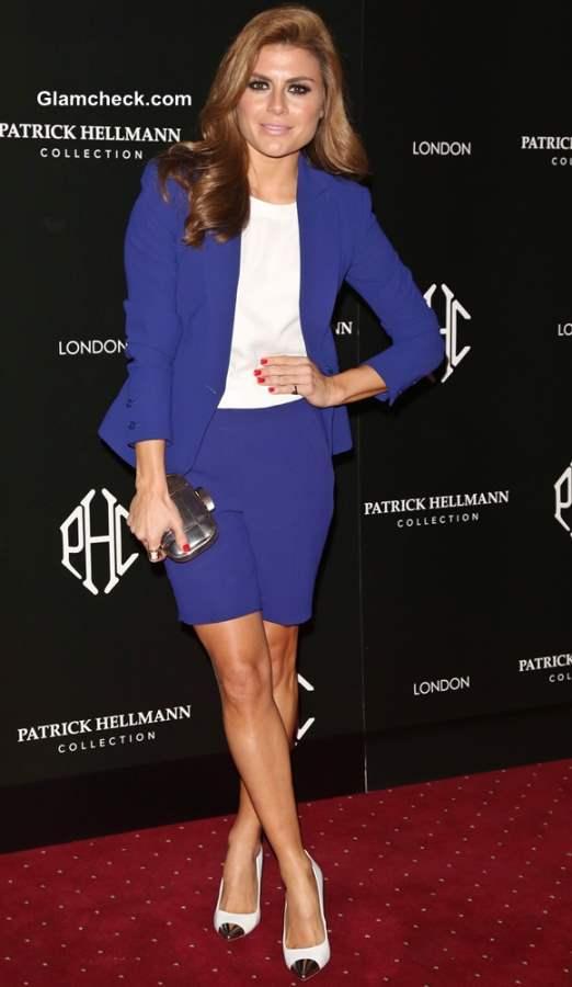Zoe Hardman 2013 blue blazer