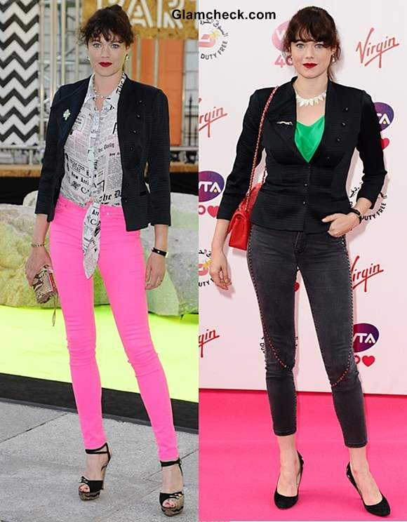 2 Cool Ways to Style your Black Blazer like Jasmine Guinness