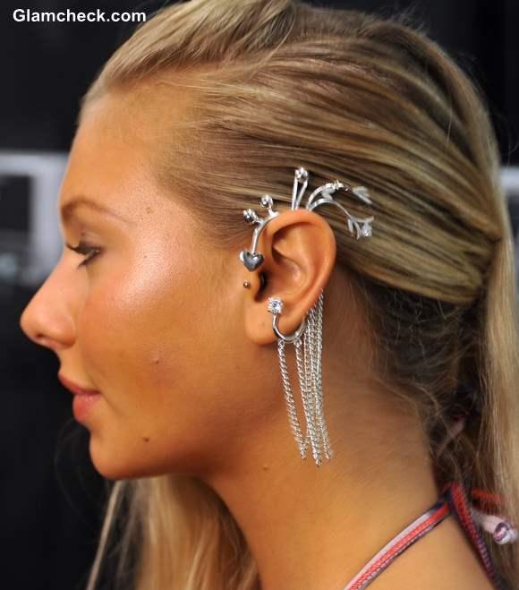 Accessory Pick Statement Ear Cuffs