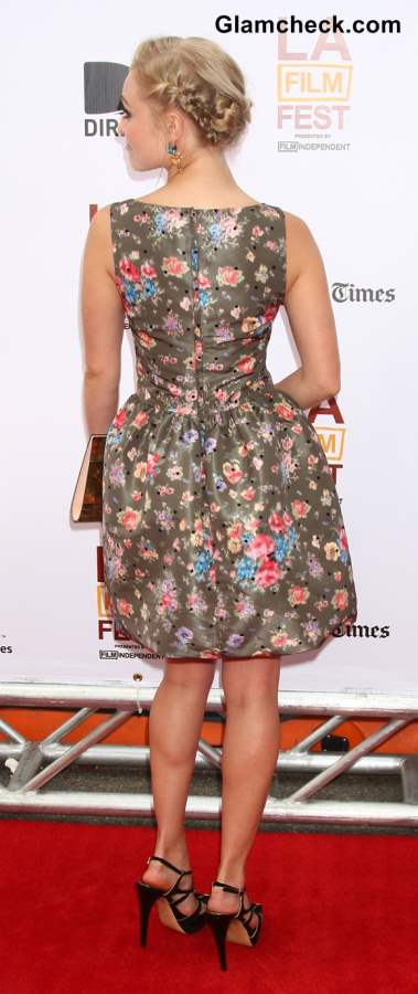 Anna Sophia Robb in Valentino dress at The Way Way Back Premiere