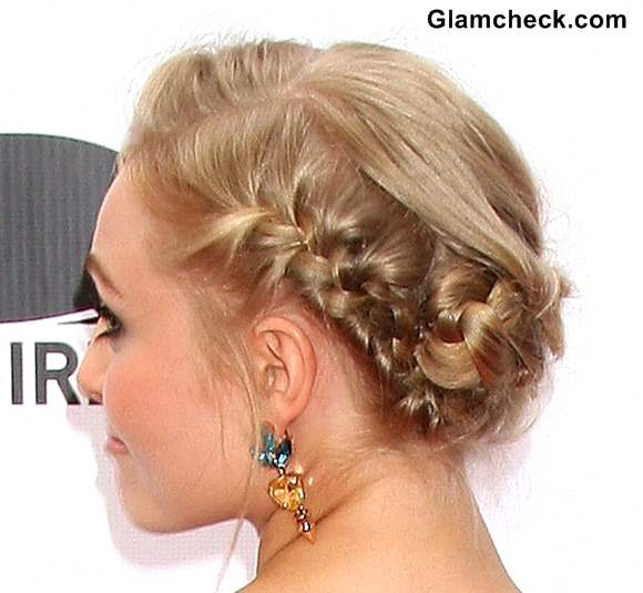 Anna Sophia braid hairstyle 2013