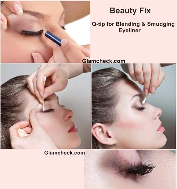 Beauty Fix Q-tip for Blending Smudging Eyeliner