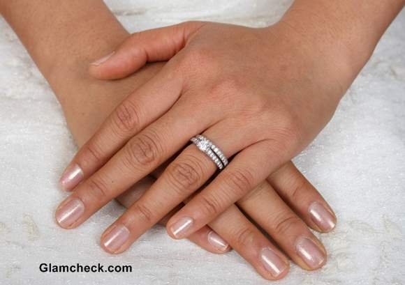 Bridal Wedding Nail Art Manicure