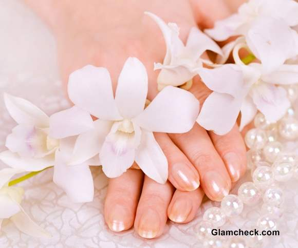 Bridal Wedding Nail Art