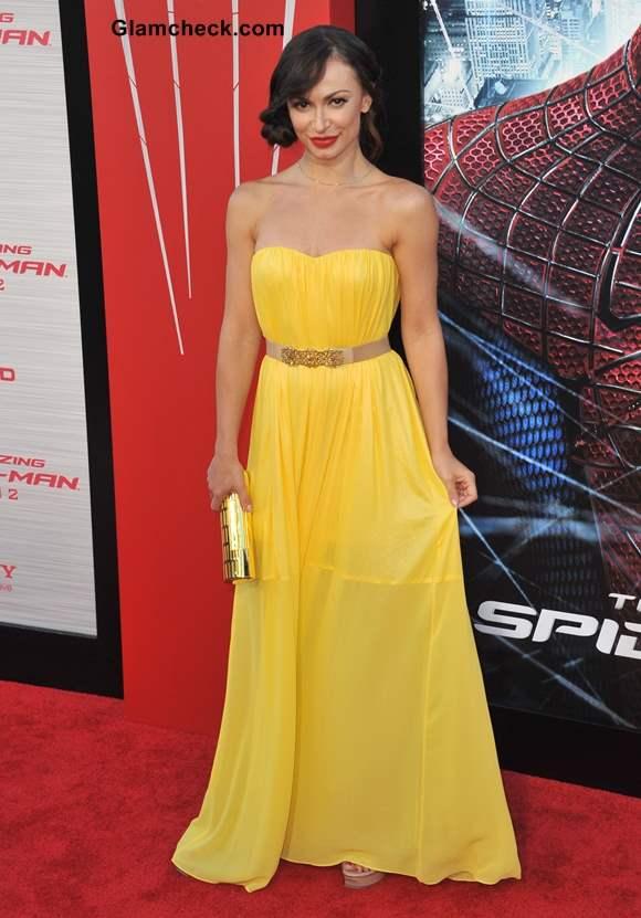 Celebrity Yellow Gowns Karina Smirnoff