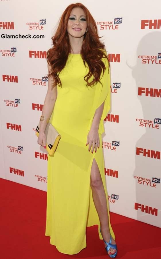 Celebrity Yellow Gowns Natasha Hamilton