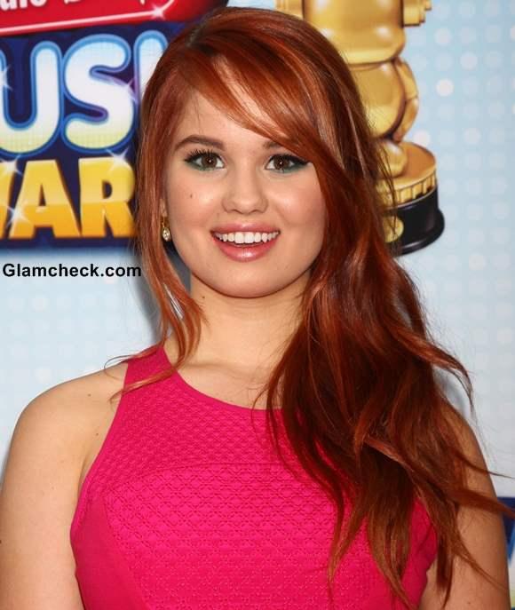 Debby Ryan 2013 hair color